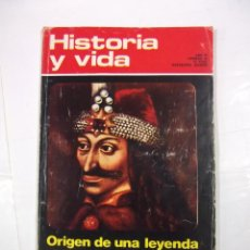 Coleccionismo de Revista Historia y Vida: HISTORIA Y VIDA Nº 60. AÑO VI. ORIGEN DE UNA LEYENDA DRACULA. TDKR44. Lote 97910299