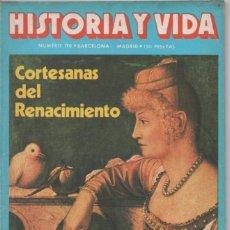 Coleccionismo de Revista Historia y Vida: HISTORIA Y VIDA Nº 170 CORTESANAS DEL RENACIMIENTO. LAS PELEAS DE GALLOS EN LA HISTORIA. Lote 98357543