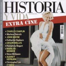 Coleccionismo de Revista Historia y Vida: HISTORIA Y VIDA ESPECIAL N. 13 - TEMA: EL HOLLYWOOD DE ORO (NUEVA). Lote 124556711