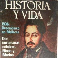 Coleccionismo de Revista Historia y Vida: HISTORIA Y VIDA Nº 91 AÑO VIII.. Lote 99478895