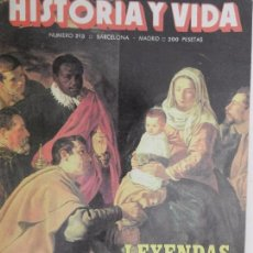 Coleccionismo de Revista Historia y Vida: HISTORIA Y VIDA Nº 213 AÑO XVIII DICIEMBRE 1985.. Lote 99479363