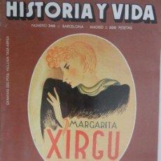 Coleccionismo de Revista Historia y Vida: HISTORIA Y VIDA Nº 249 DICIEMBRE 1988 AÑO XXI. . Lote 99479851