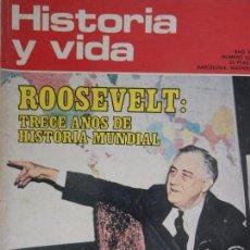 Coleccionismo de Revista Historia y Vida: HISTORIA Y VIDA Nº 55 OCTUBRE 1972 AÑO V.. Lote 99480279
