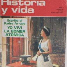 Coleccionismo de Revista Historia y Vida: HISTORIA Y VIDA Nº 53 AGOSTO 1972 AÑO V.. Lote 99480455