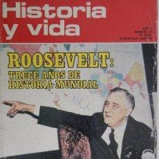 Coleccionismo de Revista Historia y Vida: HISTORIA Y VIDA Nº 55 AÑO V OCTUBRE 1972.. Lote 99480543