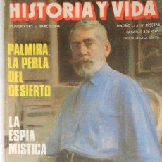 Coleccionismo de Revista Historia y Vida: HISTORIA Y VIDA Nº 283 AÑO XXIV OCTUBRE 1991.. Lote 99525815