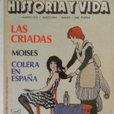 Coleccionismo de Revista Historia y Vida: HISTORIA Y VIDA Nº 270 AÑO XXIII SEPTIEMBRE 1990.. Lote 99525859