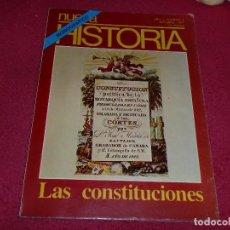 Coleccionismo de Revista Historia y Vida: AÑO 1 - NÚMERO 9 - MONOGRÁFICO SOBRE LAS CONSTITUCIONES ESPAÑOLAS. Lote 100240847