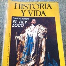 Colecionismo da Revista Historia y Vida: HISTORIA Y VIDA - AÑO VII - Nº 72 -- LUIS DE BAVIERA, EL REY LOCO --. Lote 100247995