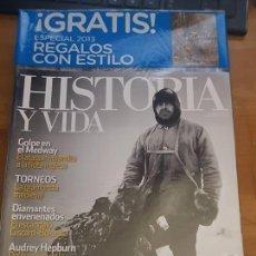 Coleccionismo de Revista Historia y Vida: HISTORIA Y VIDA: CARRERA A LA ANTÁRTIDA.. Lote 103404731