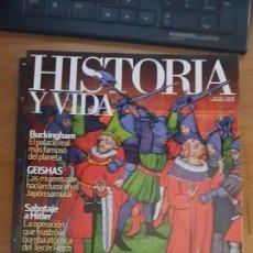Coleccionismo de Revista Historia y Vida: HISTORIA Y VIDA: INDIGNADOS MEDIEVALES. Lote 103406071