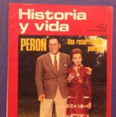 Coleccionismo de Revista Historia y Vida: HISTORIA Y VIDA N-68.PERON. LA HISTORIA DEL TABACO. Lote 103877303