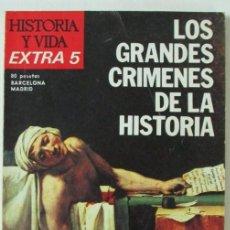 """Sammeln von Zeitschriften Historia y Vida - REVISTA """"HISTORIA Y VIDA"""" (EXTRA Nº 5–1975). LOS GRANDES CRÍMENES DE LA HISTORIA - 105355067"""