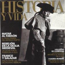 Coleccionismo de Revista Historia y Vida: HISTORIA Y VIDA. 471. PIRATAS. Lote 107383771