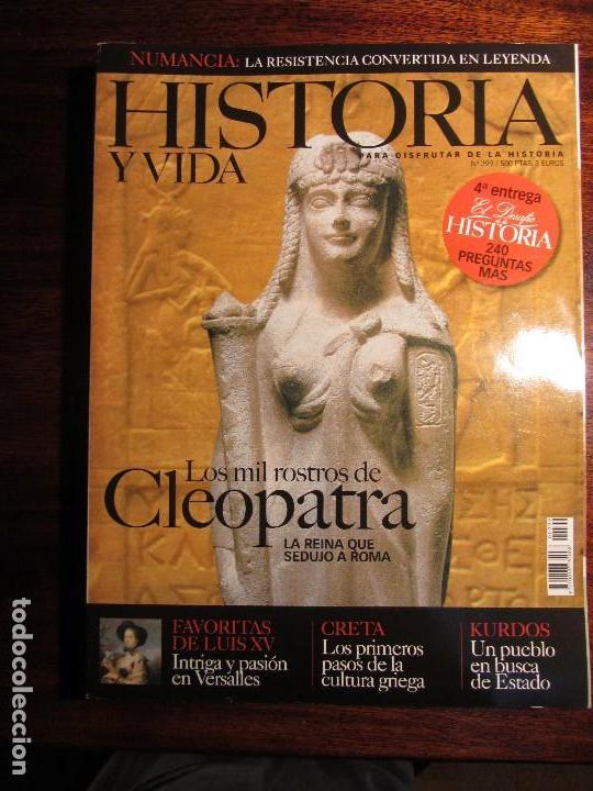 HISTORIA Y VIDA Nº 399. CLEOPATRA. CRETA. KURDOS (Coleccionismo - Revistas y Periódicos Modernos (a partir de 1.940) - Revista Historia y Vida)