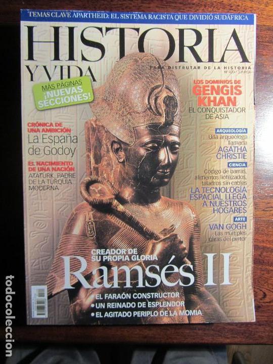HISTORIA Y VIDA Nº 420. RAMSES II. GENGIS KHAN. GODOY. (Coleccionismo - Revistas y Periódicos Modernos (a partir de 1.940) - Revista Historia y Vida)