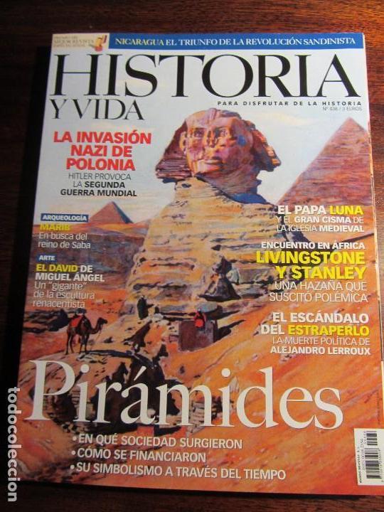 HISTORIA Y VIDA Nº 438 PIRAMIDES. (Coleccionismo - Revistas y Periódicos Modernos (a partir de 1.940) - Revista Historia y Vida)
