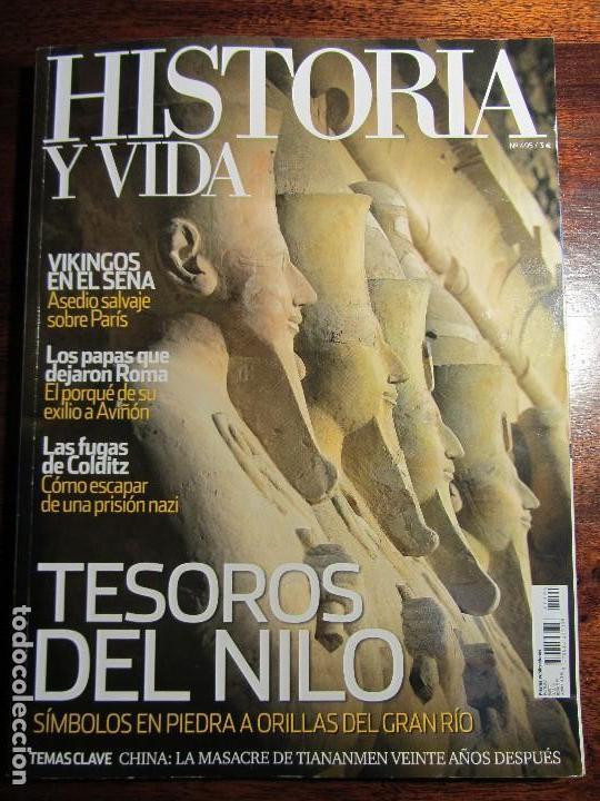 HISTORIA Y VIDA Nº495. TESOROS DEL NILO. VIKINGOS EN EL SENA. (Coleccionismo - Revistas y Periódicos Modernos (a partir de 1.940) - Revista Historia y Vida)