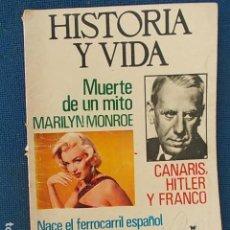 Coleccionismo de Revista Historia y Vida: HISTORIA Y VIDA . Lote 112400663
