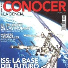 Coleccionismo de Revista Historia y Vida: HISTORIA Y VIDA. CONOCER LA CIENCIA. 7. ISS: LA BASE DEL FUTURO. Lote 114187547