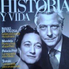 Coleccionismo de Revista Historia y Vida: PATRIOTA O TRAIDOR EL DUQUE DE WINDSOR. Lote 114426115
