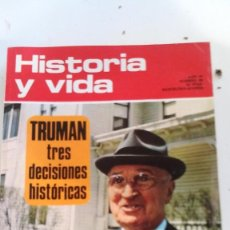 Coleccionismo de Revista Historia y Vida: TRUMAN TRES DECISIONES HISTORICAS-HISTORIA Y VIDA Nº 59. Lote 115187451