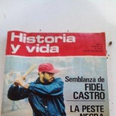 Coleccionismo de Revista Historia y Vida: SEMBLANZA FIDEL CASTRO-PESTE NEGRA-HISTORIA ESQUI-HISTORIA Y VIDA Nº 48. Lote 115187967