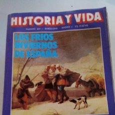 Coleccionismo de Revista Historia y Vida: FRIOS INVIERNOS ESPAÑA-JUNIPERO SERRA-NAVIDAD ORIENTE-CONSTITUCIONES ESPAÑOLAS-HISTORIA Y VIDA N 201. Lote 115188175