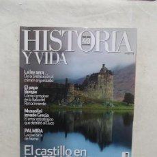 Coleccionismo de Revista Historia y Vida: REVISTA HISTORIA Y VIDA Nº 485 EL CASTILLO EN LA EDAD MEDIA 1968-2008 40 ANIVERSARIO. Lote 115242079