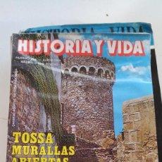 Coleccionismo de Revista Historia y Vida: TOSSA MURALLAS ABIERTAS-EL JOVEN LENIN-HISTORIA Y VIDA Nº 294. Lote 116684239