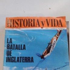 Coleccionismo de Revista Historia y Vida: LA BATALLA DE INGLATERRA. NAPOLEÓN: LOS ESCENARIOS DE SU VIDA-HISTORIA Y VIDA Nº 21. Lote 116703071