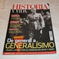 Sammeln von Zeitschriften Historia y Vida - historia y vida nº 592 de general a generalisimo - 117164707