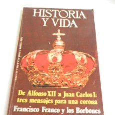 Coleccionismo de Revista Historia y Vida: HISTORIA Y VIDA Nº 94 DE ALFONSO XII A JUAN CARLOS I .. Lote 117770119