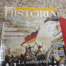 Coleccionismo de Revista Historia y Vida: REV. NÚM.447 UNIFICACIÓN ALEMANIA-FRANCO/HITLER.TERROR ASIRIO, ANIMALES OCULTOS,TIZIANO EROTICO,. Lote 126934987