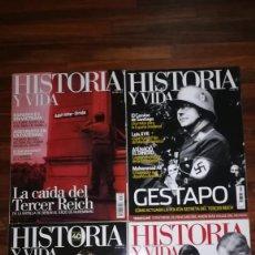 Coleccionismo de Revista Historia y Vida: LOTE DE REVISTAS HISTORIA Y VIDA. Lote 126987035