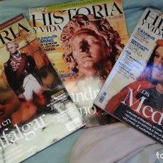 Coleccionismo de Revista Historia y Vida: CONJUNTO DE 3 REVISTAS HISTORIA DIFERENTES EN BUEN ESTADO DE CONSERVACIÓN. . Lote 128004551