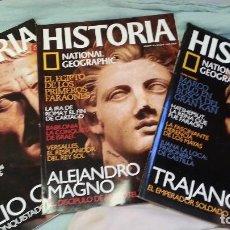 Coleccionismo de Revista Historia y Vida: REVISTAS DE HISTORIA. 3 EJEMPLARES AÑO 2.004. BUEN ESTADO GENERAL.. Lote 128005307