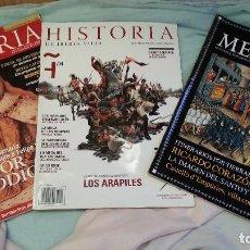 Coleccionismo de Revista Historia y Vida: REVISTAS DE HISTORIA. 3 EJEMPLARES AÑO 1.998-2.003. BUEN ESTADO GENERAL.. Lote 128005875