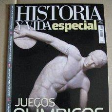 Coleccionismo de Revista Historia y Vida: HISTORIA Y VIDA ESPECIAL JUEGOS OLIMPICOS (LEER DESCRIPCION). Lote 128013931