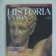 Coleccionismo de Revista Historia y Vida: HISTORIA Y VIDA , Nº 383 : GRECIA CLASICA , EL TOLEDO DE BRUÑUEL, GREMIOS, ETC. Lote 128080983