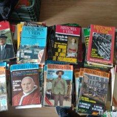 Coleccionismo de Revista Historia y Vida: HISTORIA Y VIDA 100 PRIMEROS NÚMEROS DEL 1 AL 105 DE 1968 A 1977. Lote 128826619