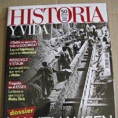 Coleccionismo de Revista Historia y Vida: HISTORIA Y VIDA Nº605 (EN PORTADA:MAUTHAUSEN) LEER DESCRIPCION. Lote 130056115
