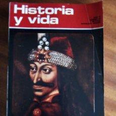 Coleccionismo de Revista Historia y Vida: Nº 60: DRÁCULA, ORIGEN DE UNA LEYENDA.. Lote 130995428