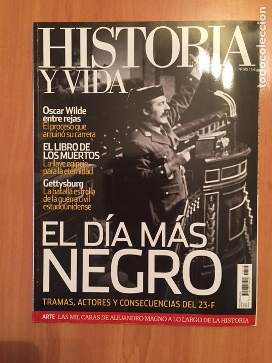 REVISTA HISTORIA Y VIDA NÚMERO 515 2011 (Coleccionismo - Revistas y Periódicos Modernos (a partir de 1.940) - Revista Historia y Vida)