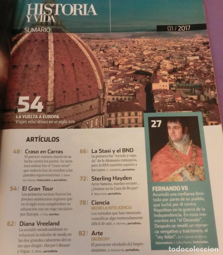 Coleccionismo de Revista Historia y Vida: HISTORIA Y VIDA Nº 586- FERNANDO VII ¿DESEADO O INDESEABLE? (COMO NUEVA) - Foto 2 - 132531586