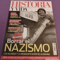 Sammeln von Zeitschriften Historia y Vida - HISTORIA Y VIDA Nº 591- BORRAR EL NAZISMO (COMO NUEVA) - 132617338