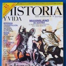 Coleccionismo de Revista Historia y Vida: REVISTA HISTORIA Y VIDA 421. LA ESPAÑA MUSULMANA. ISLAM. ADN. EEUU CAZA DE BRUJAS. CHAMPOLLION. Lote 133412262