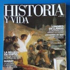 Collectionnisme de Magazine Historia y Vida: REVISTA HISTORIA Y VIDA 478. BELLEZA EN EGIPTO. 1808 ESPAÑA EN ARMAS CONTRA NAPOLEÓN. Lote 133415230