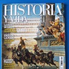 Coleccionismo de Revista Historia y Vida: REVISTA HISTORIA Y VIDA 522. PAN Y CIRCO (ROMA).EL HUNLEY.EROS EN LA POLIS (GRECIA). Lote 133423382