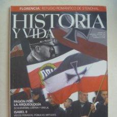 Coleccionismo de Revista Historia y Vida: HISTORIA Y VIDA , Nº 391: NEONAZIS , ISABEL II VICIOS PRIVADOS , COREA, ETC. Lote 133439146